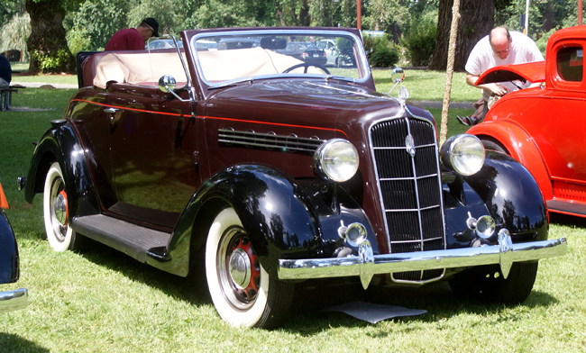 1935 Plymouth Convertible