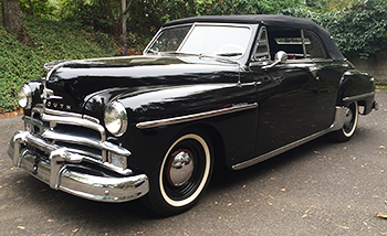 1950 Plymouth Convertible