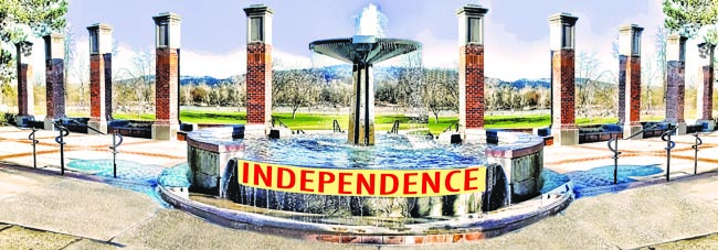 Independence header